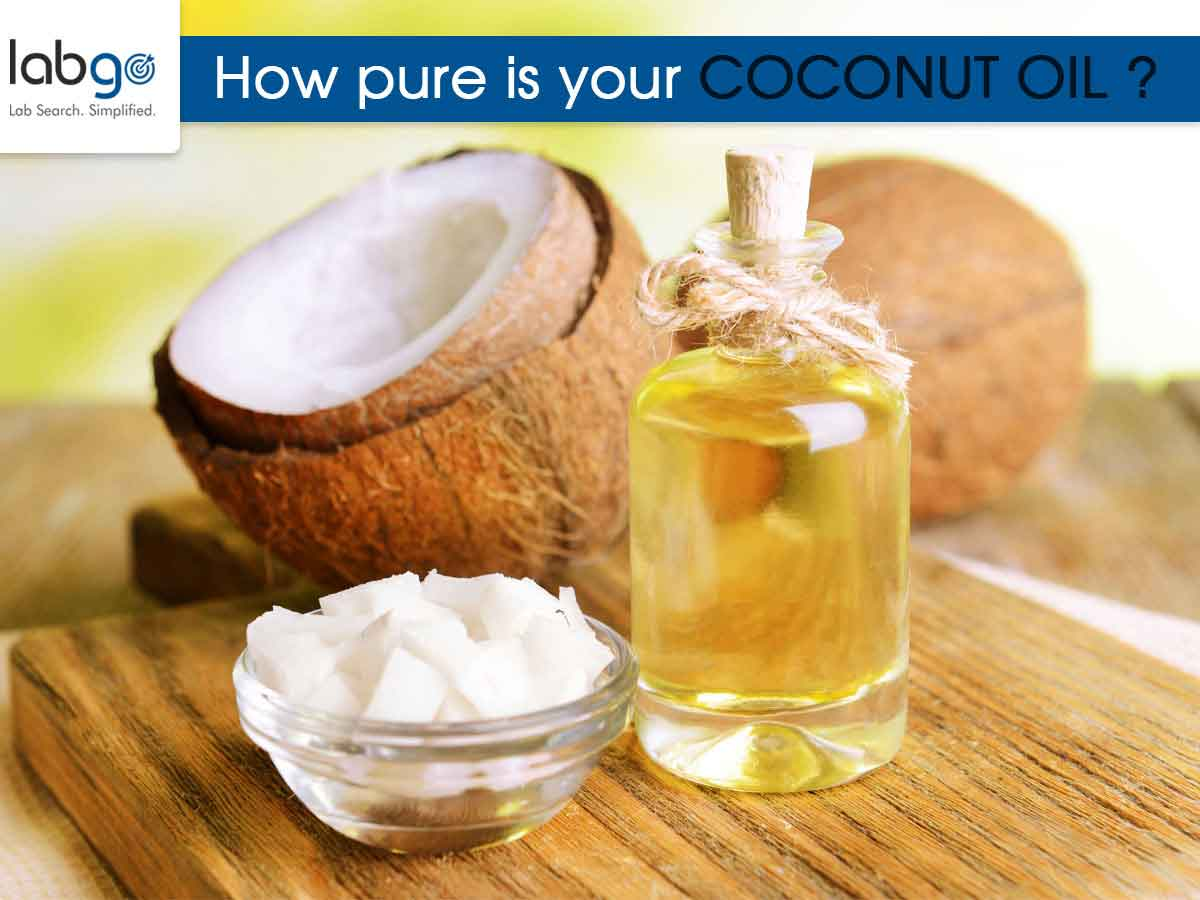 How pure is your coconut oil?
