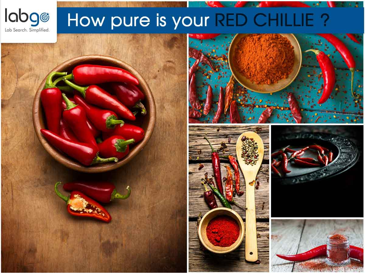 How to test red chilli?