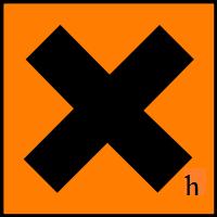Irritant Hazard Symbol