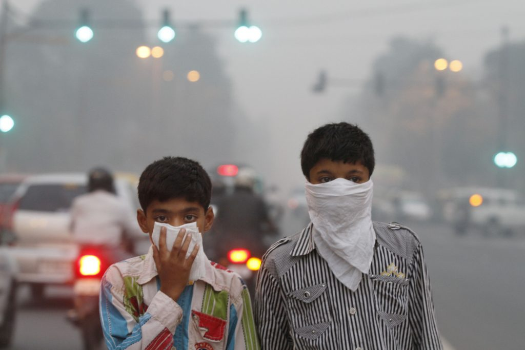 air pollution in india